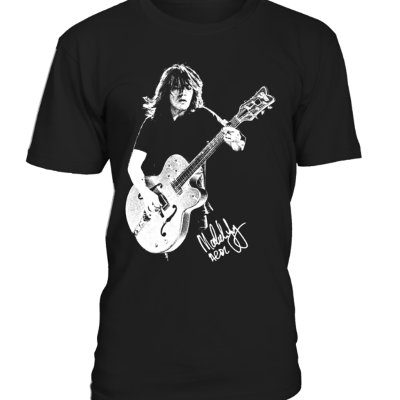 Malcolm Young – Alzheimers t-shirt